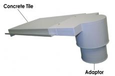 Concrete Vent-out Adaptor