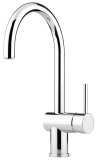 Curved Classic Sink Mixer Tap