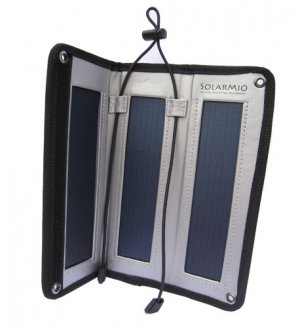 Solar Three Panel Portable Recharger Kit